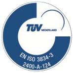 TÜV EN ISO 3834-3 gecertificeerd door keuring en inspectie