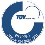 TÜV EN1090-1 gecertificeerd door keuring en inspectie