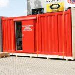 Hazo staalconstructies - Containerbouw - Brandweer