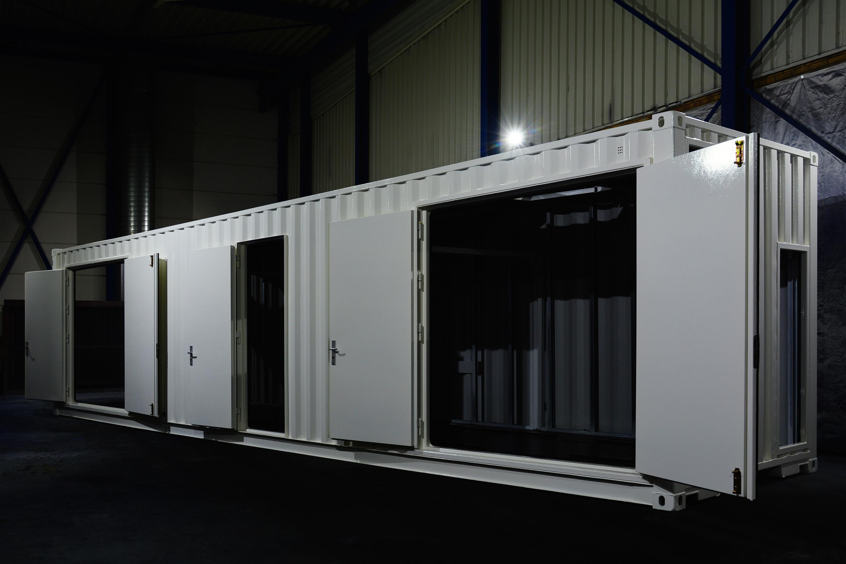 Modificatie container @ Hazo Techniek
