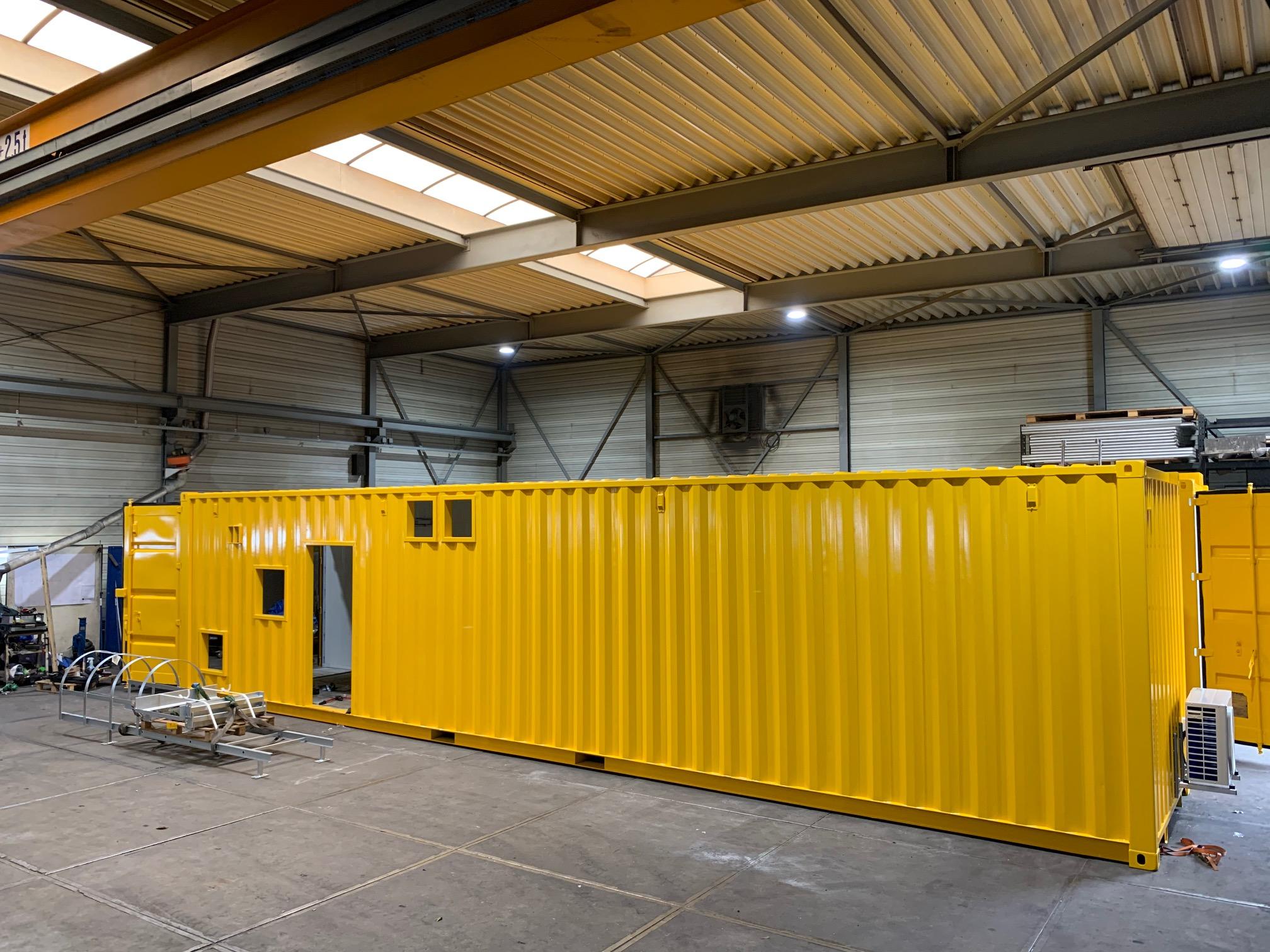 Modificatie Containers @ Hazo Techniek Lelystad