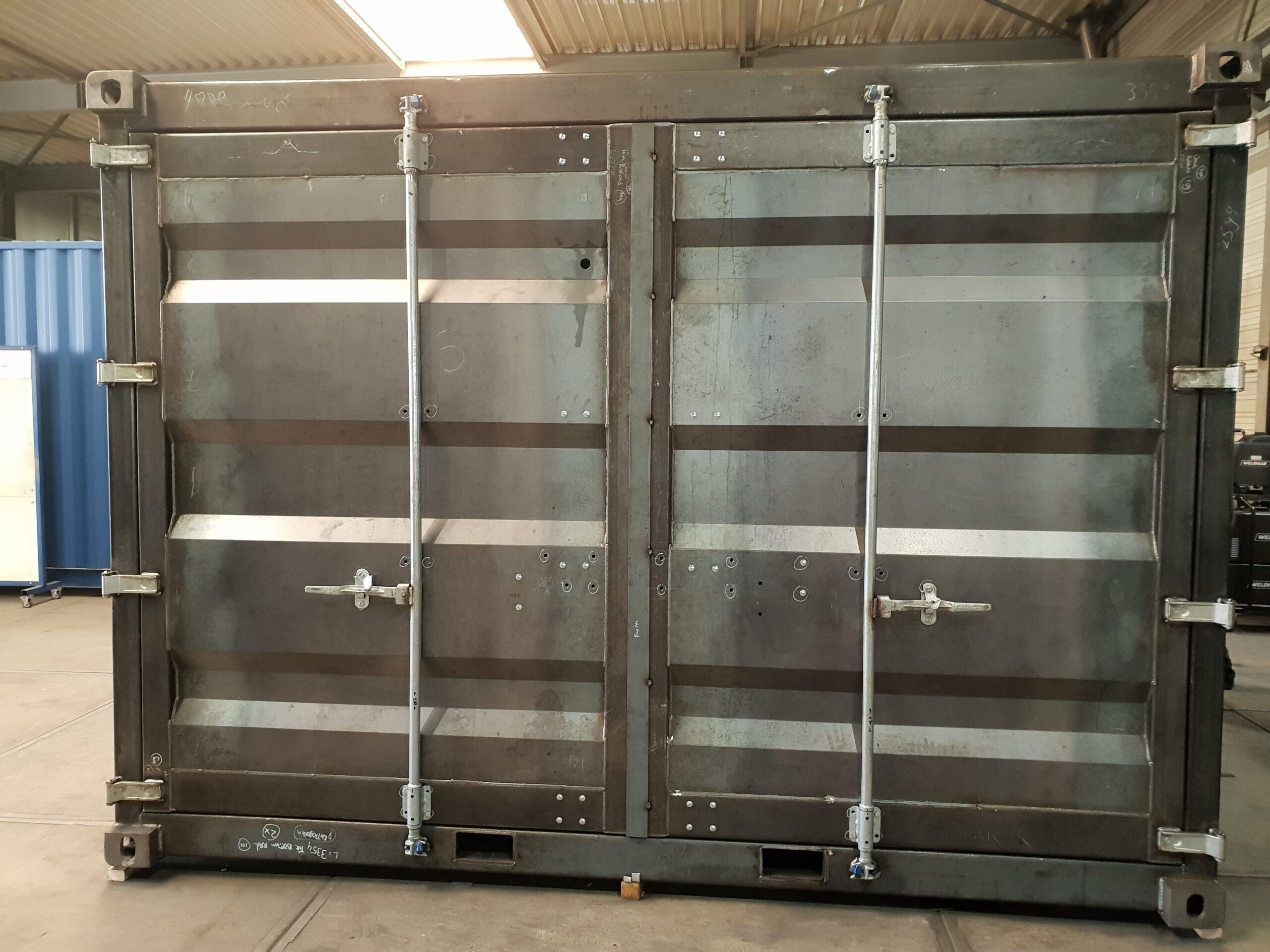 Nieuwbouw container @ Hazo Techniek